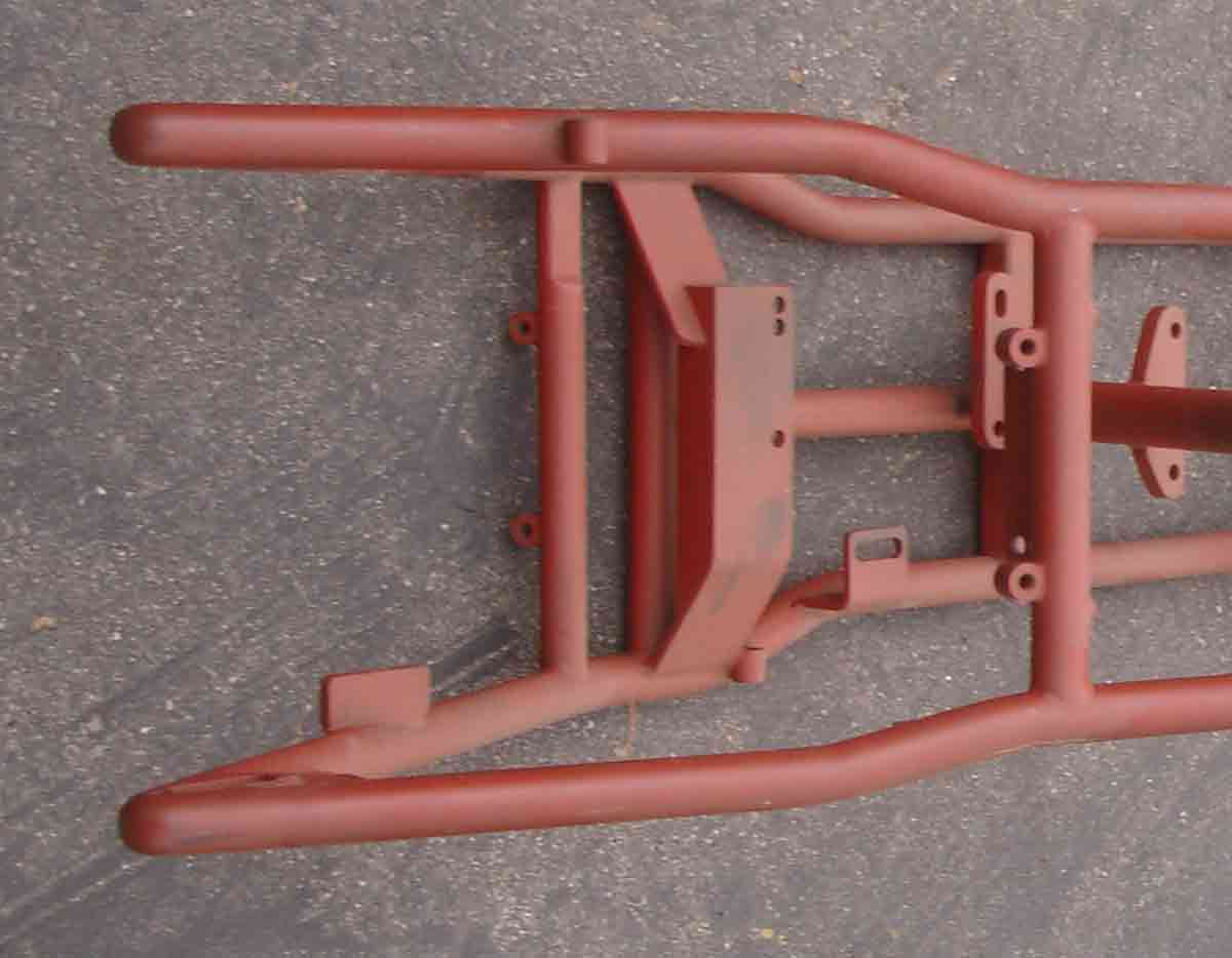 custom hard tail motorcycle frames